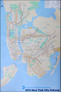 ER3094 NEW YORK SUBWAY-Map