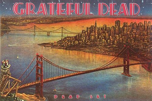 Grateful Dead Set Athena Posters
