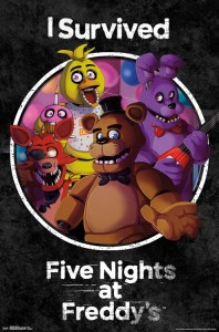 RP15845 Five Nights at Freddy's- Survived