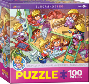 6100-0524-Engineers- Item# 6100-0524 - Puzzle size 19x13 in