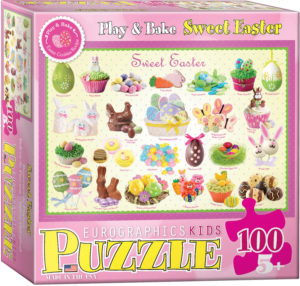 6100-0541-Sweet Easter- Item# 6100-0541 - Puzzle size 19x13 in
