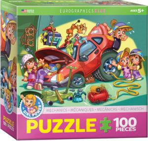 6100-0650-Mechanics- Item# 6100-0650 - Puzzle size 19x13 in
