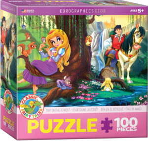 6100-0728-Day in the Forest- Item# 6100-0728 - Puzzle size 19x13 in