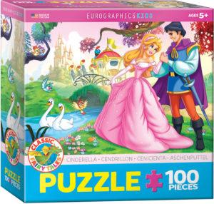 6100-0730-Cinderella-Item# 6100-0730- p uzzle size 19x13 in