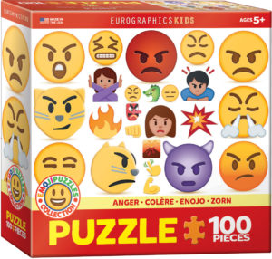 6100-0868-Anger-Item# 6100-0868 - Puzzle size 19x13 in