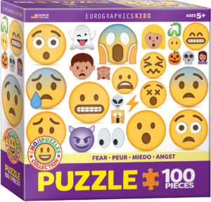 6100-0869-Emojipuzzles- Item# 6100-0869 - Puzzle size 19x13 in
