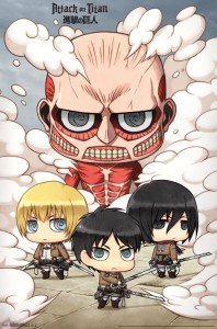 RP14821-Attack on Titan - Chibi Group