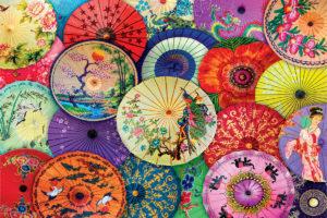 2400-5317 Asian Oil-Paper Umbrellas
