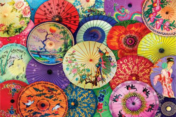 2400-5317 Asian Oil-Paper Umbrellas