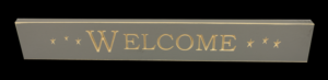 WS9041GRY-Welcome – 2′ Sign