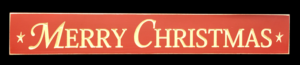 WS9049RD-Merry Christmas – 2′ Sign – Red