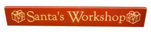WS9056RD-Santa's Workshop – 2′ Sign – Red