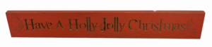 WS9069RD-Have a Holly Jolly Christmas – 2′ Sign – Red