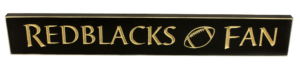 WS9113BL-Redblacks Fan – 2′ Sign – Black