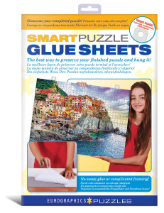 8955-0101-Smart Puzzle Glue Sheets- Item# 8955-0101 Puzzle size 7.5-10.75 in