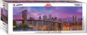 6010-5301-Brooklyn Bridge, New York-Item# 6010-5301-PSize 39x13 in