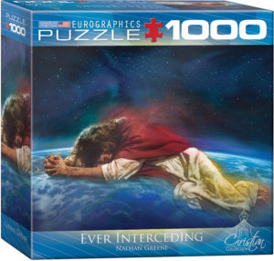8000-0355-Ever Interceding- Item# 8000-0355 - Puzzle size 26.675x19.25 in