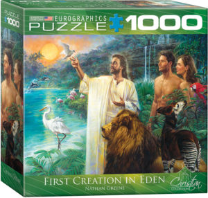 8000-0356-First Creation Eden- Item# 8000-0356 - Puzzle size 26.675x19.25 in