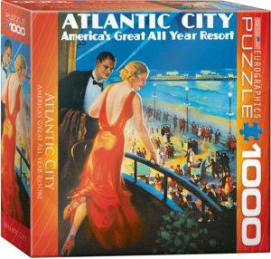 8000-0396-Atlantic City- Item# 8000-0396 - Puzzle size 19.25x26.5 in