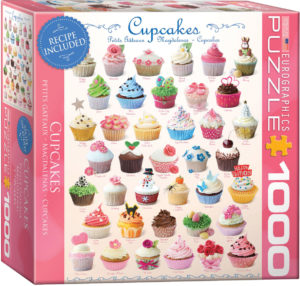 8000-0409-Cupcakes- Item# 8000-0409 - Puzzle size 19.25x26 in