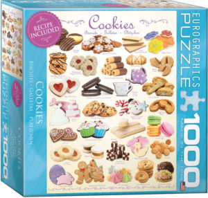 8000-0410-Cookies- Item# 8000-0410 - Puzzle size 19.25x26.5 in