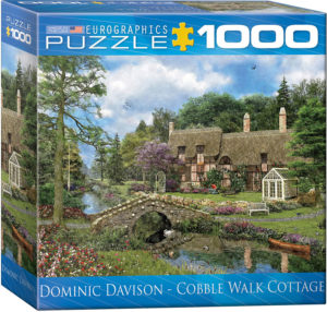 8000-0457 Cobble Walk Cottage - Item# 8000-0457 - Puzzle size 19.25x26.5 in