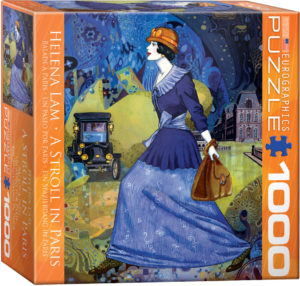 8000-0515-A Stroll in Paris- Item# 8000-0515 - Puzzle size 26.675x19.25 in