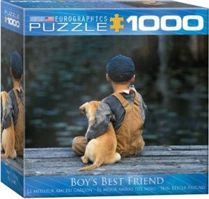8000-0527-Boy's Best Friend- Item# 8000-0527 - Puzzle size 26.675x19.25 in