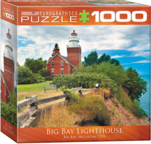 8000-0551-Big Bay Lighthouse Michigan- Item# 8000-0551 - Puzzle size 19.25x26.675 in