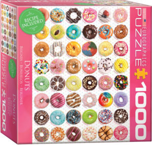 8000-0585-Donuts Tops- Item# 8000-0585 - Puzzle size 19.25x26.675 in