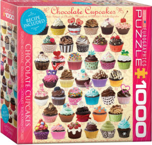 8000-0587-Chocolate Cupcakes- Item# 8000-0587 - Puzzle size 19.25x26.675 in