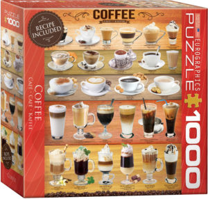 8000-0589-Coffee- Item# 8000-0589 - Puzzle size 19.25x26.5 in