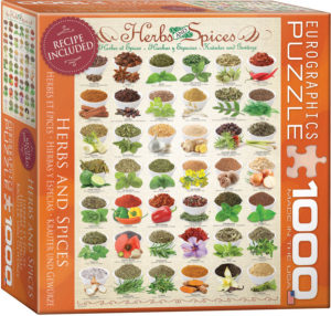 8000-0598-Herbs and Spices- Item# 8000-0598 - Puzzle size 19.25x26.675 in