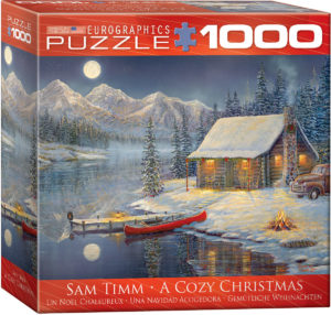 8000-0608-A Cozy Christmas- Item# 8000-0608 - puzzle size 26.675-19.25 in