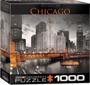 8000-0658-Chicago- Item# 8000-0658 - Puzzle size 26.675x19.25 in