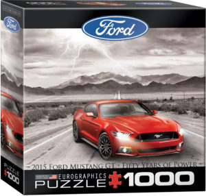 8000-0702-2015 Ford Mustang GT Fifty Years of Power- Item# 8000-0702 - Puzzle size 19.25x26.5 in