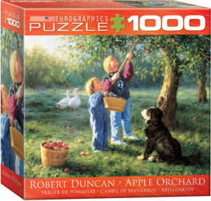8000-0727-Apple Orchard- Item# 8000-0727 - Puzzle size 19.25x26.675 in