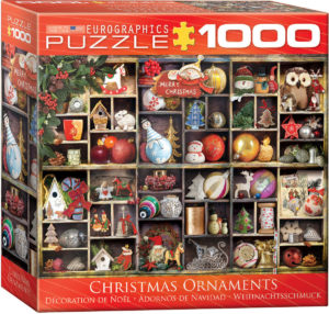 8000-0759- Christmas Ornaments - Item# 8000-0759 - Puzzle size 26.5x19.25 in