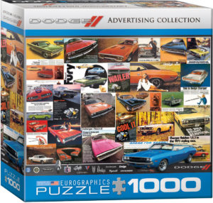 8000-0760-Dodge Advertising Collection- Item# 8000-0760 - Puzzle size 26.5x19.25 in
