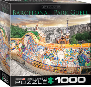 8000-0768-Barcelona-Item# 8000-0768 - Puzzle size 26.5x19.25 in