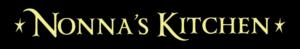WS9322BL-Nonna's Kitchen – 2′ Sign – Black