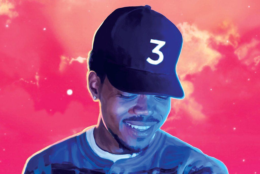 Chance The Rapper Coloring Book Athena Posters