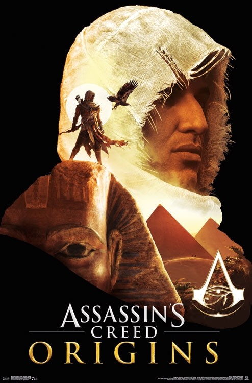 Assassins Creed Origins Profile Athena Posters