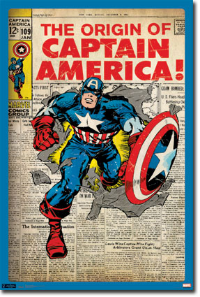 Captain America-Comic Cover