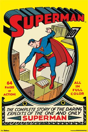 Superman 1-Comic Cover