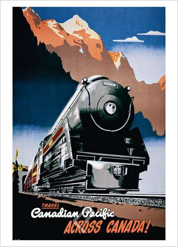 Canadian Pacific across Canada,1930