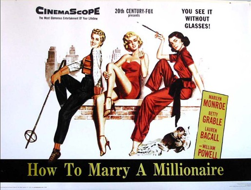 Marilyn Monroe-How to marry a Millionaire