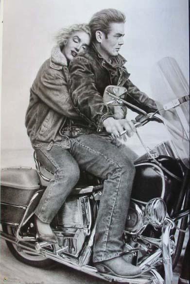 Marilyn Monroe Guns James Danger Harvey Athena Posters