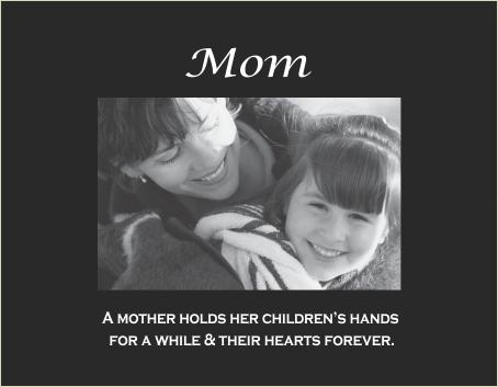 Mom-Child's hand verse