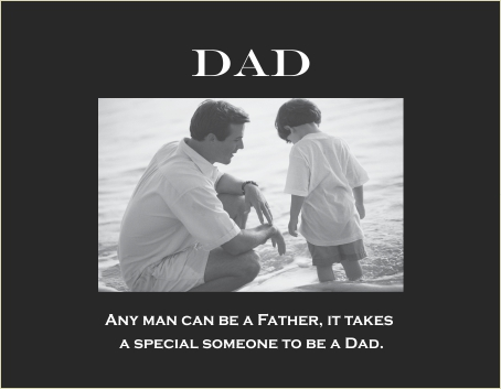 Dad - Special someone verse